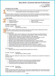 Retail Banking Resume Example Example Of A Proper Resume Resume For Your Job Application