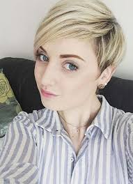 blonde hair is usually thinner 55 short hairstyles for women with thin hair fashionisers