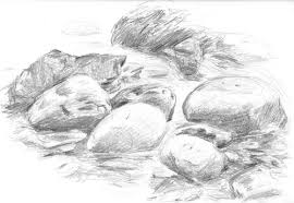 realistic rocks drawing google search rocas montañas