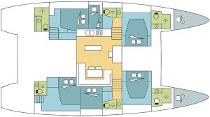 Catamaran Floor Plans A Full Deck The Catamaran Company