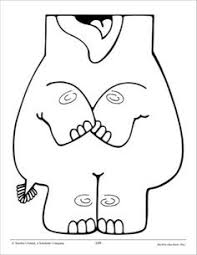 free muppet puppet patterns to print elephant puppet from