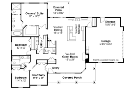 open ranch style floor plans ranch house plans brightheart 10 610 associated designs