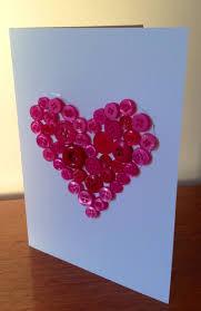 heart button card button card kids craft button heart button