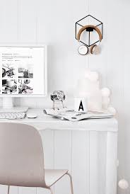 All White Office Ideas