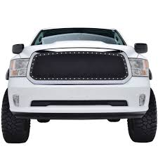 dodge ram 1500 grill 46 0759 ram 1500 wire mesh grille insert evolution black stainless