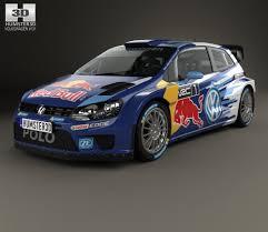 volkswagen race car volkswagen polo r wrc racecar 2015 3d model hum3d