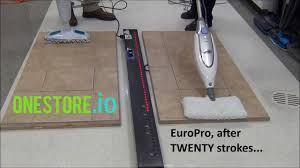 Laminate Floor Sticky After Cleaning Steam Mop For Laminate Floors Bissell V Europro Youtube