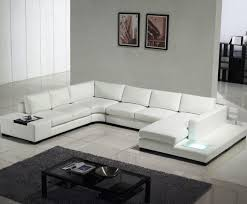 White Leather Sofa Modern Modern White Leather Sofa Cabinets Beds Sofas And Morecabinets