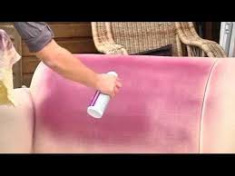 Where To Buy Upholstery Fabric Spray Paint Simply Spray Upholstery Spray Youtube