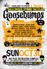 goosebumps an all ages haunted halloween spooktacular tickets