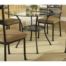glass top dining room set glass kitchen dining room tables for less overstock com