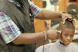 parents children benefit from free back to haircuts at