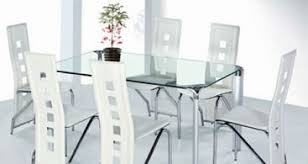 Chairs Freedom To - Contemporary glass dining room furniture