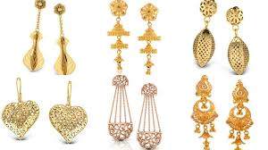 gold erring gold earrings collection gold earrings online
