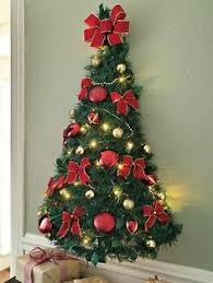 half christmas tree half a christmas tree for wall my web value
