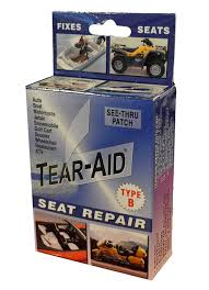 How To Repair Patio Chair Seats Amazon Com Tear Aid Repair Type B Vinyl Seat Repair Kit Sports