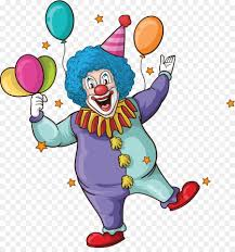 clowns for birthday wedding invitation clown birthday greeting card vector show