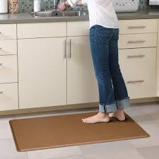 Padded Kitchen Mat Amazon Com Gelpro Cordoba Comfort Floor Mat 20 Inch By 36 Inch