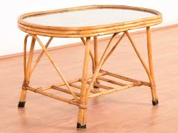 Used Glass Top Dining Table For Sale In Mumbai Canela Wood U0026 Glass Top Coffee Table Industrial Mid Century