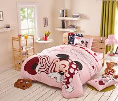 Queen Minnie Mouse Comforter Sleeping Minnie Mouse Queen Size Girls Bedding Sets Boys And Girls
