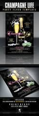 invitations for new years eve party champagne life party flyer template graphicriver this flyer and