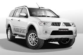mitsubishi sports car white mitsubishi pajero sport anniversary edition suv launched in india
