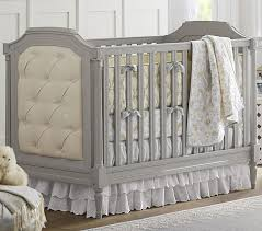 Gray And Yellow Crib Bedding Lara Baby Bedding Set Pottery Barn Kids