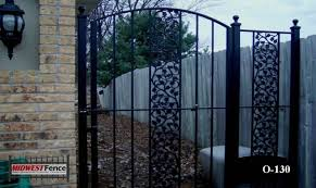 gates for ornamental iron fences midwest fence
