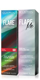 clairol professional flare hair color chart clairol professional flare me pemanent hair color collection