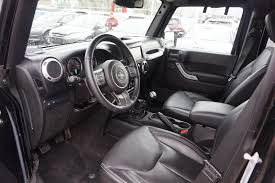 white and black jeep wrangler used jeep for sale l a nissan