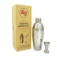 martini shaker shaking cocktail shaker 2 piece 24oz set in gift box u2013 rare fool