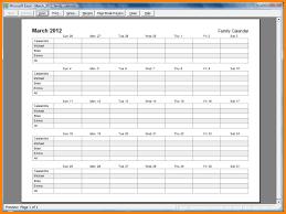 6 family calendar template memo templates