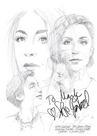 sketch sofie gråbøl in the james plays the national theatre