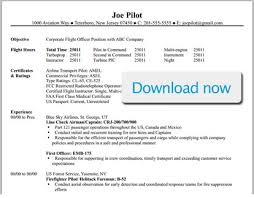 Resume For Flight Attendant Job by Professional Pilot Resume Template Bizjetjobs Com