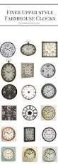 best 20 farmhouse clocks ideas on pinterest landing decor
