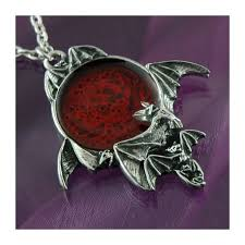 gothic moon necklace images Blood moon pendant gothicstyle jpg