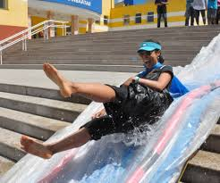 diy water slide 7 steps with pictures