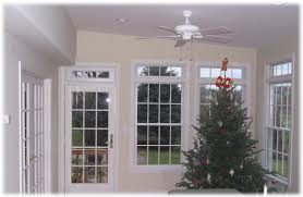 home decor woodbridge window ceiling fan and christmas tree ornaments with window