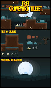 desert halloween background free platformer game tileset with desert theme suitable for
