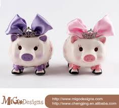 Baptism Piggy Bank Alcancias De Ceramica De Pepa La Pig Buscar Con Google Pig