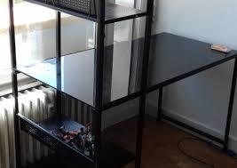donne bureau donne bureau métal et verre noir à annecy haute savoie