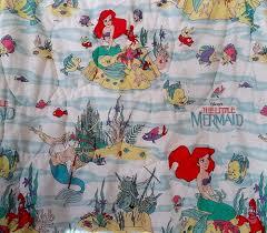 Little Mermaid Comforter Vintage Disney Little Mermaid Ariel Twin Comforter Blanker Girls