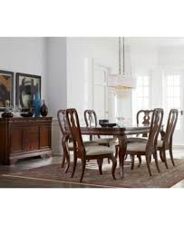 Dining Room Tables Set Bordeaux 9 Piece Dining Room Furniture Set Created For Macy U0027s