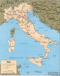 Map Of Italy And Croatia by Florence On Map Of Italy Deboomfotografie