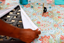 Outdoor Tablecloth With Hole For Umbrella by My Favorite Things Patio Tablecloth With Umbrella Hole