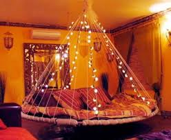 red string lights for bedroom how to use string lights for your bedroom 32 ideas digsdigs
