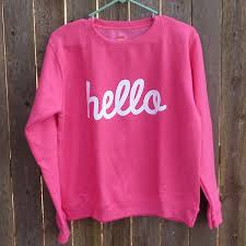frugal gal u0027s hello shirt tutorial dream a little bigger