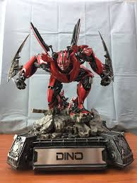 ferrari transformer matrix studio transformers dark of the moon autobot dino statue