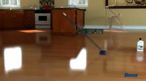 how to polish hardwood floors with bona youtube