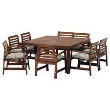 Ikea Teak Patio Furniture by Garden Tables U0026 Chairs Garden Furniture Sets Ikea